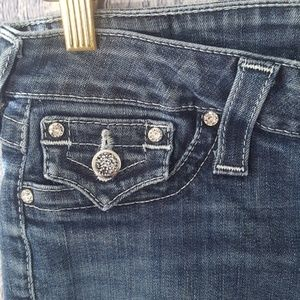 "True Religion Skinny Crystal Rock ""Legging"" Jeans"
